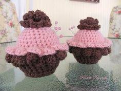 Cupcake Pin Cushions