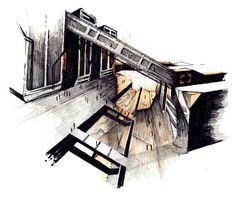 Thesis + Architecture Porftolio on Behance