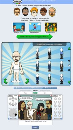 Here's everything you need to know about Bitstrips on Facebook.