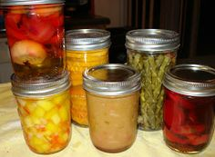 Great looking easy recipes!  i really cant wait to try the chickn soup, chili and mango salsa!!! Canning Homemade!: Monthly Group Recipes