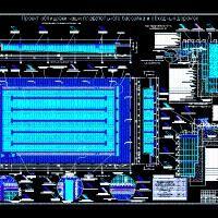 Piscina 2d dwg dibujo de autocad detalles for Piscinas en autocad