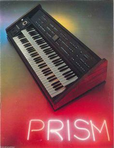 MATRIXSYNTH: Prism Digital Synthesizer Catalog Brochure