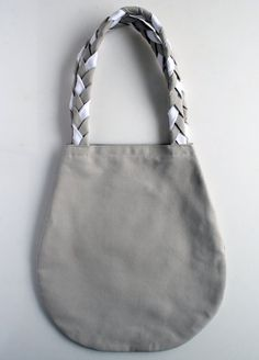 Braided Handle Canvas Tote | Purl Soho