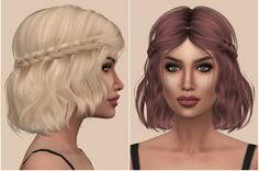 Kenzar Sims : Leah Lillith(Hair Retexture).