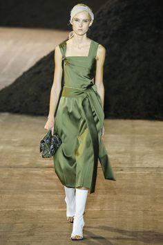 Trend: Gorgeous Greens // 3.1 Phillip Lim Spring 2016 Ready-to-Wear Fashion Show - Liza Ostanina