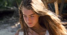 """ Brooke Shields in The Blue Lagoon (1980) """
