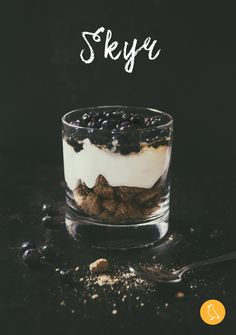 Skyr with blueberries and birch syrup. It can't get more Icelandic. Check out our recipe!
