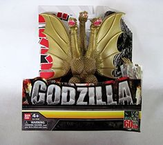 Bandai Creation Godzilla Series 60th Anniversary: GMK King Ghidorah 2001/2002 Soft Vinyl Figure 6 Inches Tall in Box Bandai America/Toho Co. Ltd 2014 http://www.amazon.com/dp/B00MOWNLP8/ref=cm_sw_r_pi_dp_RkFRub1EEHR79