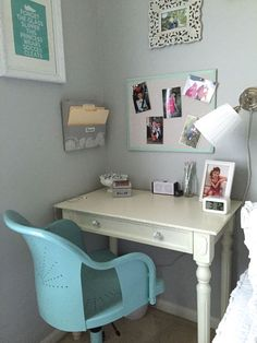 Creating a desk space in your child's bedroom