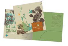 Casa Calma Wellness Hotel. Diseño de folleto institucional. Diseñado por Bunker3022.
