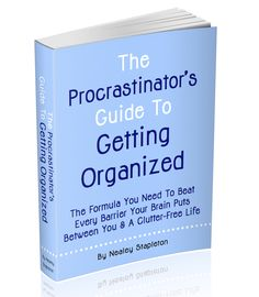 10 Ways To Avoid Procrastination - The Procrastinator's Guide To Getting Organized | The-Organizing-Boutique.com