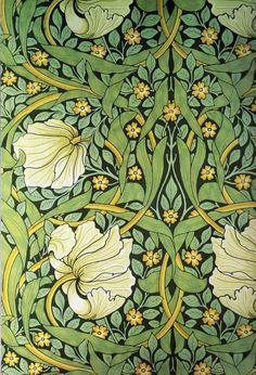 browsethestacks:  William Morris Art Nouveau Wallpapers