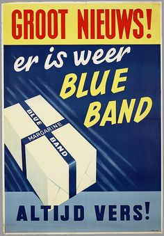 Er is weer Blue Band.