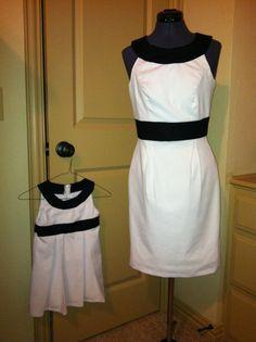 Mother/Daughter Dresses