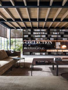 Molteni&C, leading Italian designer furniture company for 80 years