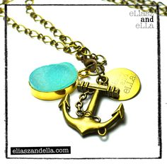 "Eliasz and Ella ""Breezy Sunset"" Chain Necklace"