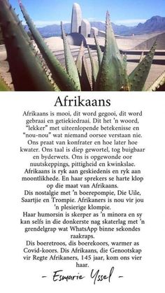 Afrikaanse Quotes, Lesson Planner, Today Quotes, Spiritual Quotes, Poetry, Ink, South Africa, Au Pair, Amphibians