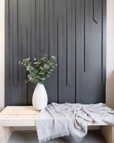 Accent Walls In Living Room, Diy Living Wall, Bedroom Wall Texture, Wood Accent Walls, Living Room Wall Designs, Diy Wall, Accent Wall Designs, Diy Home Decor, Room Decor