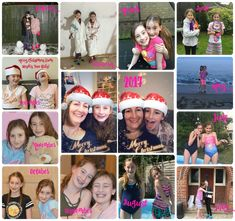 Stephs Two Girls siblings collage 2017