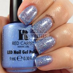 Red Carpet Manicure Cinderella Collection - Life is Short, Wear a Tiara - swatch by Chickettes.com