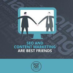 #SEO and Content Marketing are best friends #teamwork #contentmarketing