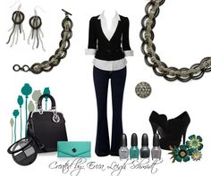 """Metro Chic"" necklace, and bracelet. ""Manhattan"" earrings. ""Galaxy"" ring. #premierdesigns"