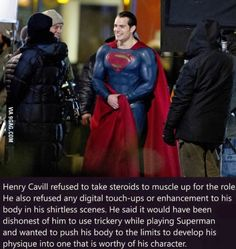No doubt he is the real Superman