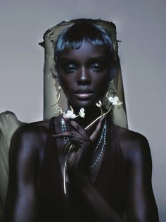 "body art on Twitter: ""Model: Duckie Thot Photographer: Nick Knight… """