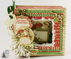 From Tatiana in Madrid, Spain.  TatiScrap Christmas Mini Album