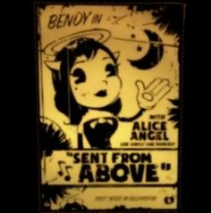 New character in Bendy and the Ink Machine! Alice the Angel