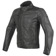 $649 Dainese Bryan Leather Jacket (neckline is too high)