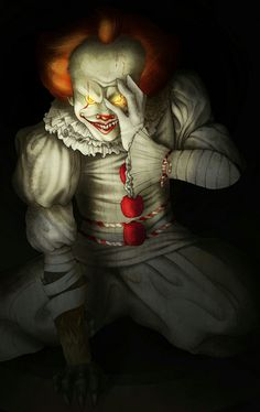 PENNYWISE Clown Names, Creepy, Scary, Stephen King Movies, Dragon Ball, Pennywise The Dancing Clown, Circus Clown, Horror Movies, Joker