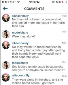 This is what the girl who met Harry and Kendall said