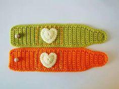 Symbols Crochet PATTERN - PDF format - Mug Cozy with Heart
