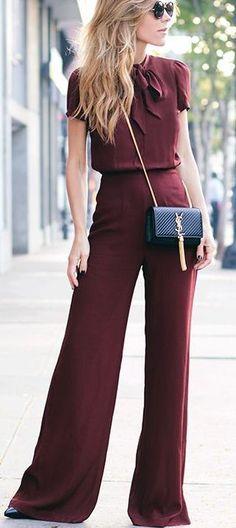 Burgandy. | fashionation