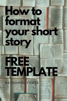 How to format a short story manuscript - free template included Book Writing Tips, Start Writing, Writing Resources, Writing Skills, Writing Ideas, Writing Prompts, Writing Curriculum, Writing Contests, Persuasive Writing