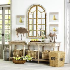 Wisteria - Mirrors & Wall Decor - Shop by Category - Mirrors - Conservatory Arch Mirror - $349.00