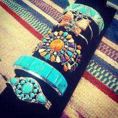 Charming cuff bracelets! http://www.silvertribe.com
