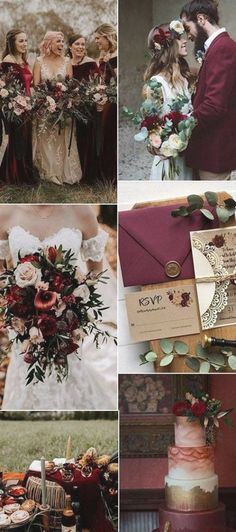 Top 12 November Wedding Color Ideas for Fall 2020 - # for Burgundy Wedding Colors, Fall Wedding Colors, Wedding Color Schemes, Autumn Wedding, Pearl Decorations, Marriage Day, Wedding Proposals, Princess Outfits, Color Inspiration