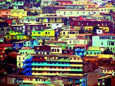 Chile Valparaiso is a Magical Experience Jodhpur, Places To Travel, Places To See, Places Around The World, Around The Worlds, Exterior Paint Schemes, City Limits, Explore, Vacation