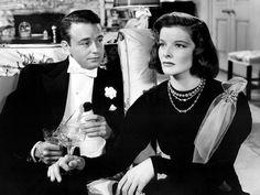 Lew Ayres and Katharine Hepburn in George Cukor's HOLIDAY ('38)