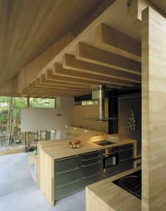 Kitchen | A small farm home annex in southern Sweden. Designed by Wingårdh Arkitektkontor AB.