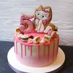 Birthday Cakes Girls Kids, 2nd Birthday Party For Girl, Sugar Dough, Bithday Cake, Cake Name, Animal Cakes, Beautiful Wedding Cakes, Girl Cakes, Cake Cookies