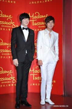 Lee Min Ho Meets His Twin in Shanghai