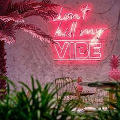 Keep positive vibes only.. #neonlights #neonaesthetic #Regram via @CKW-mkLMHFl Pink Neon Lights, Dont Kill My Vibe, Light Quotes, Neon Aesthetic, Custom Neon Signs, Positive Vibes Only, Neon Lighting, Inspirational Quotes, Positivity