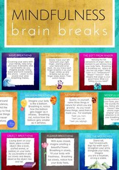 Mindfulness Brain Breaks: Coping Skills for Focus, Calm & Classroom Management What Is Mindfulness, Mindfulness For Kids, Mindfulness Activities, Mindfulness Training, Mindfulness Practice, Mindfulness Benefits, Mindfulness Techniques, Mindfulness Exercises For Groups, Mindfulness In Schools