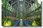 Thorncrown Chapel in Eureka Springs, Arkansas. The most peaceful and spiritual place on earth for me.