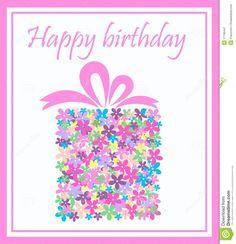 γενέθλια ευτυχή διανυσματική απεικόνιση. εικόνα από cartoon - 17786447