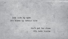 black demon eyes tumblr - Google Search