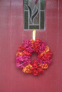 DIY Hydrangea Wreath : Factory Direct Craft Blog